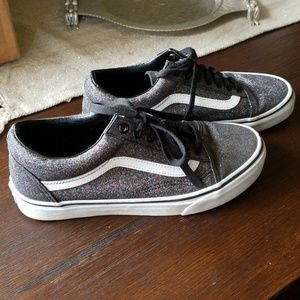Glitter/ sparkle Vans